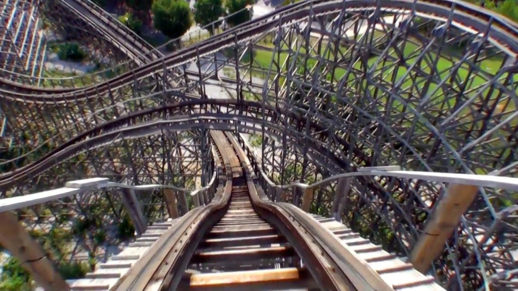 sometimes life is like a roller coaster. You just are along for the ride.