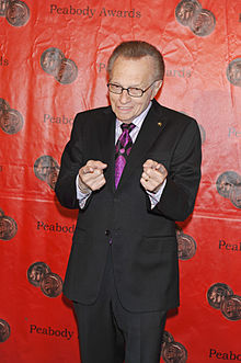 Larry King. If you want to be the best you got to model yourself.