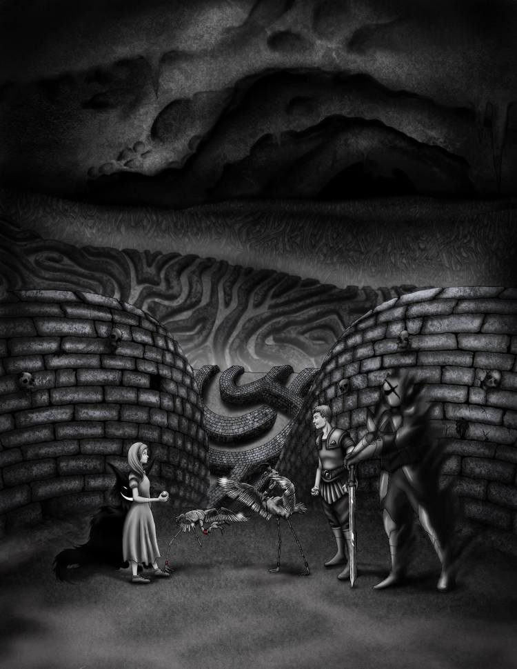 Alice Won Cover. Croquet in the underworld.